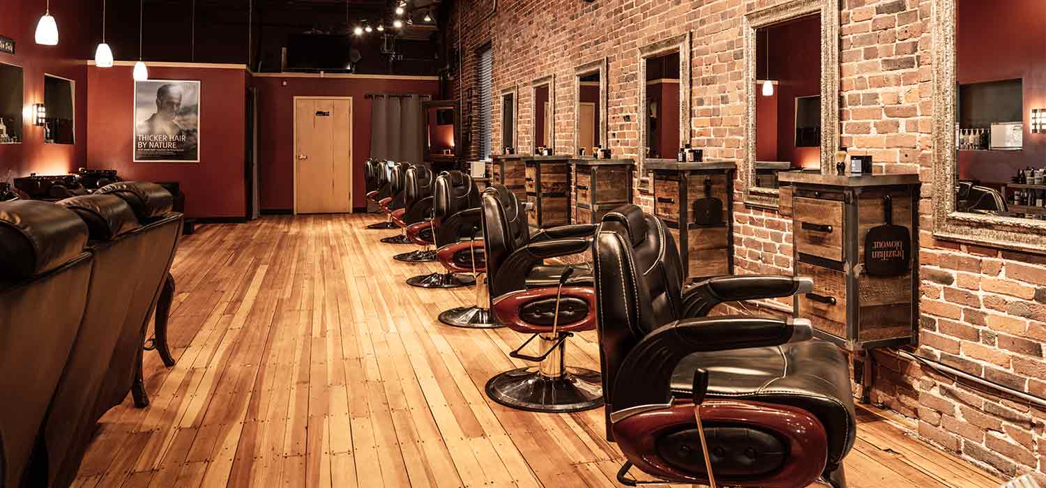 Mensroom Barber Chairs