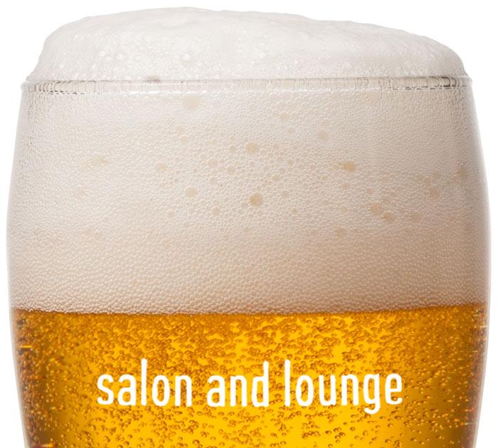 Branded Beer Mug   Mensroom Salon